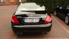L1000113 (michael_stahl) Tags: black germany mercedes benz rear may 63 cl amg 2007 garrel