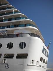 Costa Atlantica - im Hafen von Lissabon