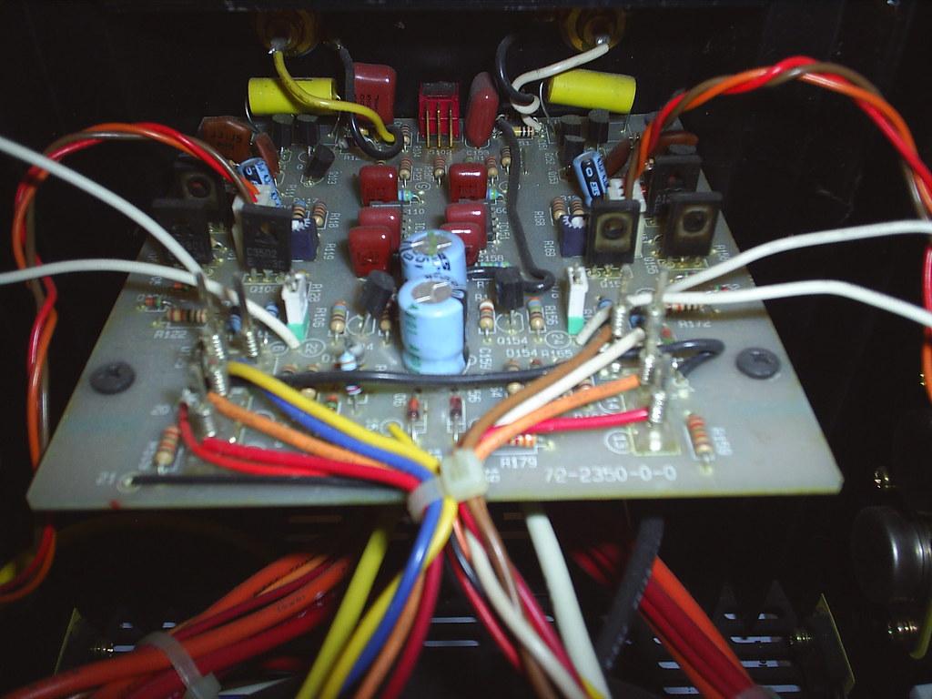 Adcom 555 II rebuild 1