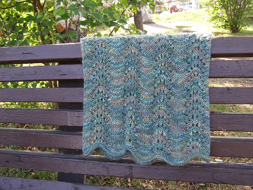 Free Knitting Pattern - Old Shale Smoke Ring from the Lace ...