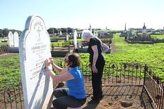 visiting ancestor - Michael O'Dea_9333 (gervo1865_2 - LJ Gervasoni) Tags: visiting ancestor michael odea tower hill cemetery 2016 kpc amg ckg south west victoria australia photographerljgervasoni