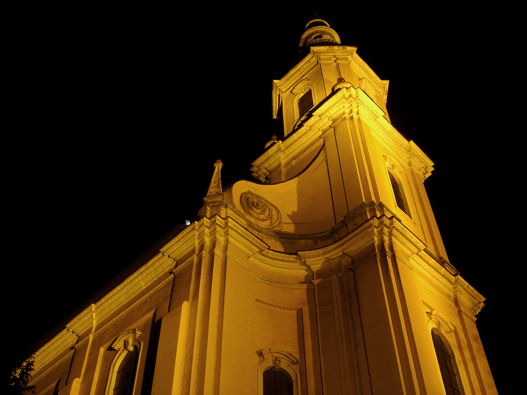 Saint Paulin's Church at Night