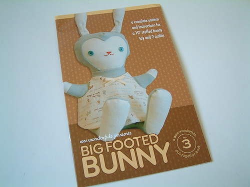 Big Footed Bunny Pattern