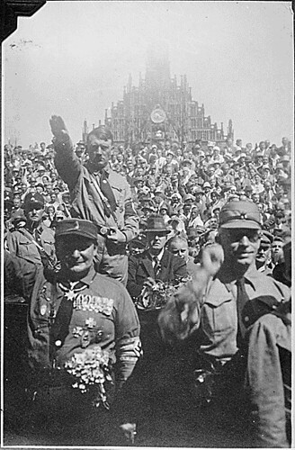 Public Domain: Nazi Party Rally Nuremberg (NARA)