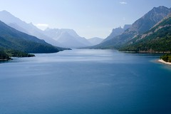 Blue-ish Waters (Robby Edwards) Tags: vacation lake water nationalpark watertonlakes watertonlakesnationalpark specland watertonglacierinternationalpeacepark upperwatertonlake