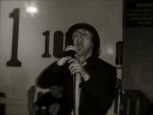 Maximo Park @ 100 Club - Courtesy of aguichard on Flickr