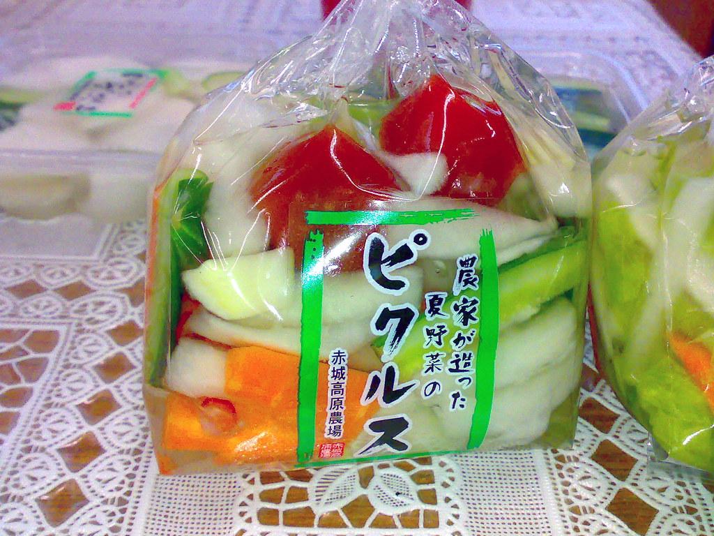 2007-04-06 夏野菜ピクルス