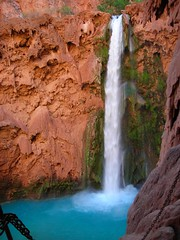 Mooney Falls and Parental Units