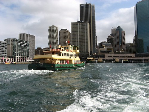 Leaving Circular Quay, Sydney, NSW