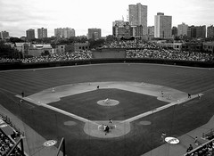 Wrigley Field, Chicago (Dizzy Atmosphere) Tags: chicago giants cubs wrigleyfield wrigley barrybonds sanfranciscogiants mattwilliams mlbplayersstrike1994 1994baseballstrike