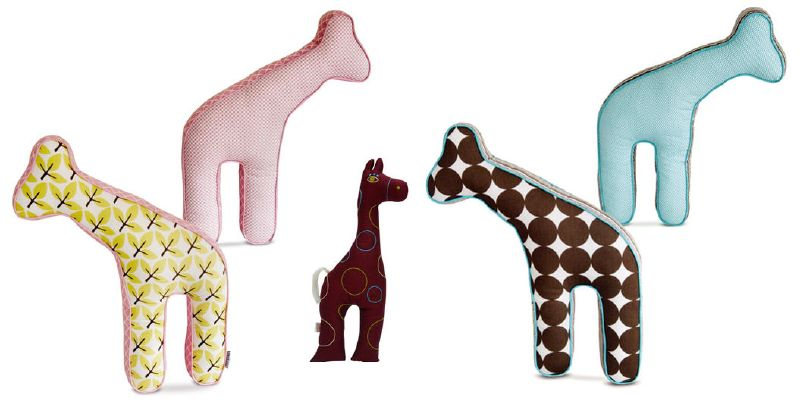 Giraffes As a Design Motif