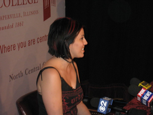 Gina and the press