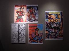 Turtel Onli (otherheroes) Tags: eye art girl comics other african exhibition age american comix heroes onli trauma nog turtel black sustah malcolm10