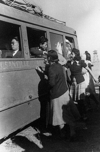 internment camps for japanese americans. Leaving the Camps