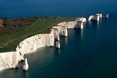 Aerial view of Old Harry Rocks, Swanage, Dorset (angiesharp29) Tags: coast aerial naturalhistory coastal dorset geology swanage oldharry oldharryrocks