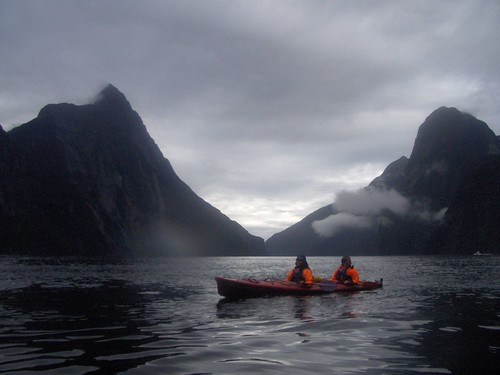 Matt and Emily, Milford Sound