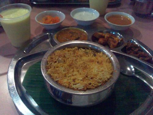 Andhra Hydrabadi Biryani