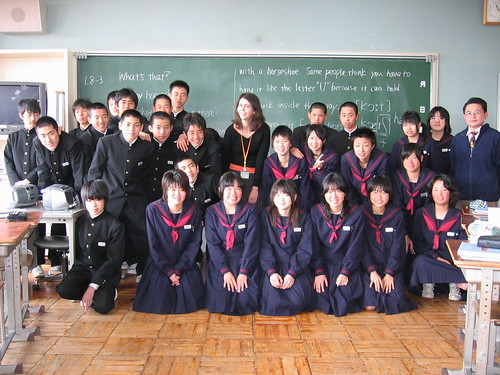 angie in japan: school photos
