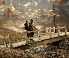 Maple Dreams (Mattijn) Tags: bridge sunset cat golden maple dream photomontage pino mattijn baarn anideg bookofdreams