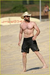 Displaying (19) Gallery Images For Hugh Jackman Shirt Off... Ryan Reynolds