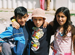 Roma kids (Miguel GL) Tags: portrait people roma kids faces gypsies montenegro konik podgorica collectivecentre