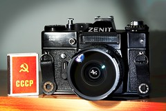 Zenit-11 with Zenitar 16mm f/2.8 - by Arkku
