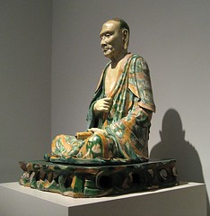 Seated Luo Han, Photo by Maulleigh