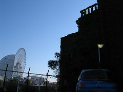 IMG_4254 (macco) Tags: auto blue car wheel japan automobile ferris renault ferriswheel  nippon yokohama kanagawa      matra avantime
