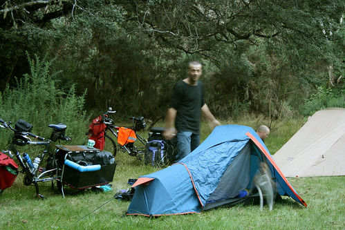 Campsite at Clarks Reserve