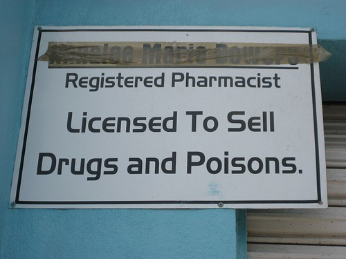 Licensed to Sell Drugs and Poisons
