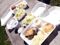 Expensive Church Food Picnic (jesssaysshh) Tags: food greek oakland pittsburgh feta fage pilaf dolmades