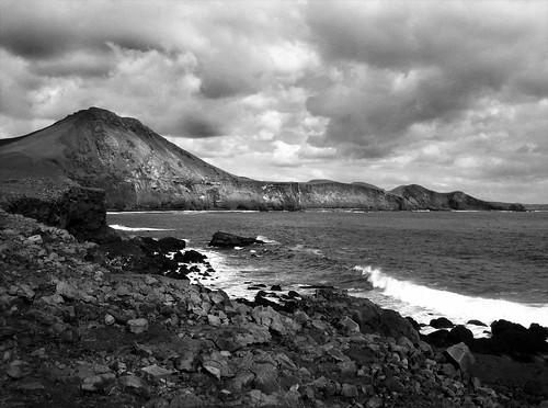 Festarfjall in black and white landscapes