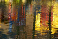 Colour Spectrum (rldock) Tags: abstract reflection water vancouver impressedbeauty