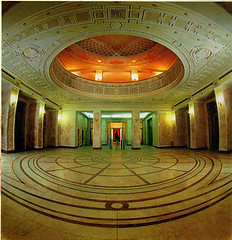 Bucharest National Bank of Romania - Reception Hall (New Wing, 1930s) (londonconstant) Tags: architecture interior romania artdeco londra bucharest bnr receptionhall costi flickrsbest londonconstant nationalbankofromania faves15faves outstandingromanianphotographers
