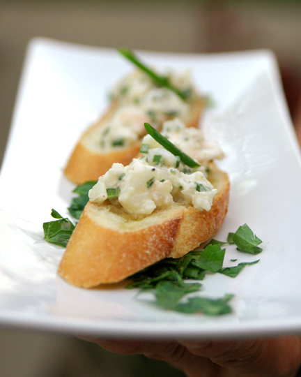 Lobster Crostini