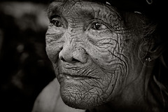 Sampaguita 1 (mykl mabalay) Tags: poverty old portrait people photoshop work canon 350d eyes asia alone sad emotion grandmother labor philippines digitalart grandfather elderly grandparents lonely pinoy mykl theface mabalay myklmabalay aplusphoto