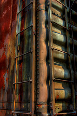 BoxCar.jpg (thebobblog) Tags: ohio usa abandoned rust boxcar tophdr