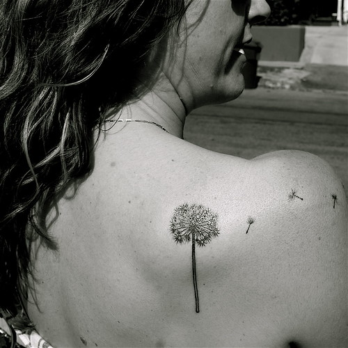 dandelion tattoo meaning