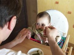 repas avec papa