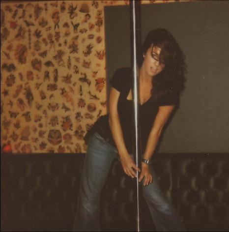 The infamous stripper pole