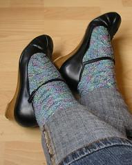 Monkey socks + shoes