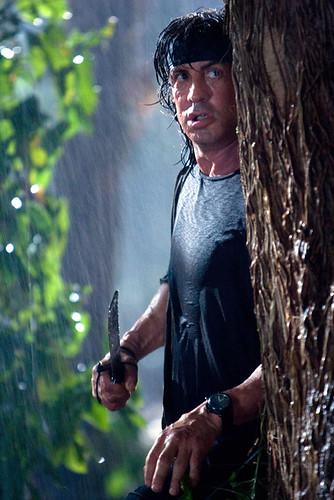 John Rambo 4 con cuchillo