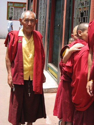 Senior Monk in Rumtek Monastery