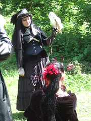 Goth with an owl