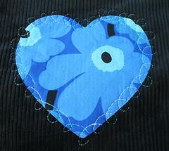 Blue Flowers Mei Tai II
