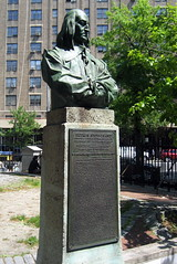 NYC - East Village: St Marks Churchyard - Peter Stuyvesant statue by wallyg, on Flickr