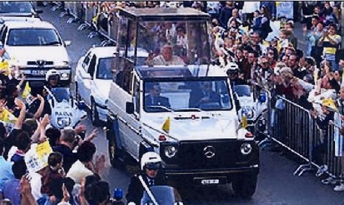Pope John Paul II in Malta.