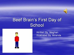 Beef Brains First Day of School