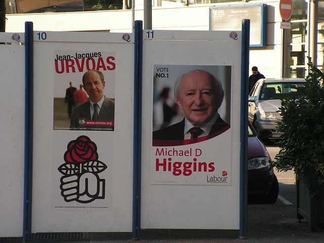 Michael D. true European that he is, pops up in Brittany