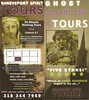 Ghost Walking Tour Shreveport Spirit Tours Rack Card